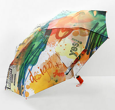DESIGUAL Paraguas Painter - Umbrella - Parapluie - New