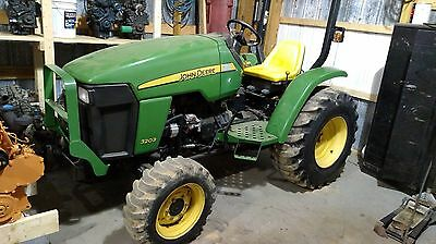 John Deere 3203 Compact 4X4 4WD Tractor 3 Cylinder Diesel Hydrostatic