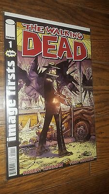 The Walking Dead #1 Image Firsts Reprint
