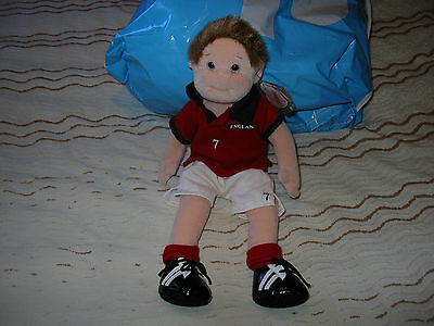 Ty Beanie Boppers Footballer Soft Toy