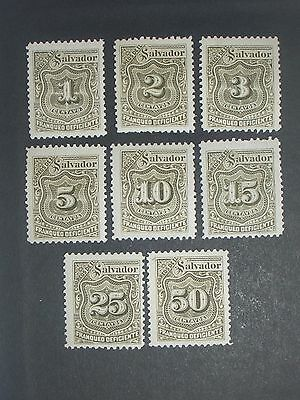 early Salvador stamps mint (i do combine p&p)