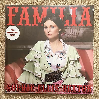 Sophie Ellis Bextor Familia HMV Exclusive Pink Vinyl New And Sealed Rare