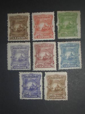 early Salvador stamps mint (i do combine p&p) F