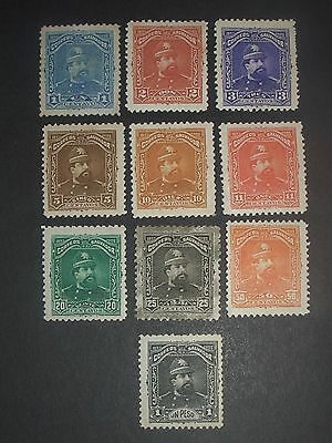 early Salvador stamps mint (i do combine p&p) G