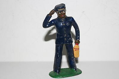 Barclay Vintage Lead Figure, B160 (#613) Porter, With Whisk Broom, Lot #2