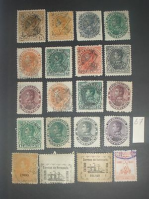 early Venezuela stamps mint & used (i do combine p&p) A
