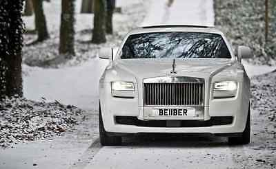'BE11BER' Justin Bieber Private Number Plate For Sale