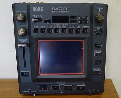 Korg KP-3 KAOSS PAD kp3 Dynamic Effect/Sampler