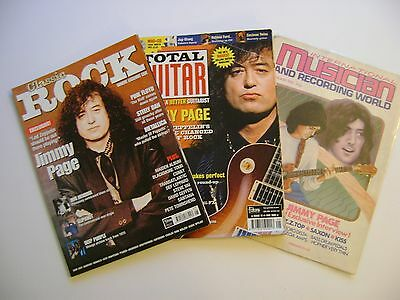 Led Zeppelin 3 Jimmy Page magazines/Articles