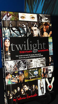~TWILIGHT Directors Notebook Story of How We Made The Movie Free Ship~