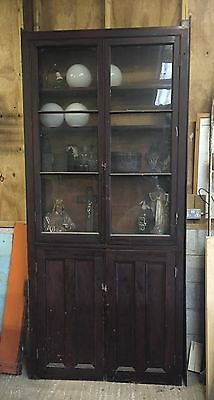 Large Church Display Bookcase / Cabinet / Wood /Home /Shop Display