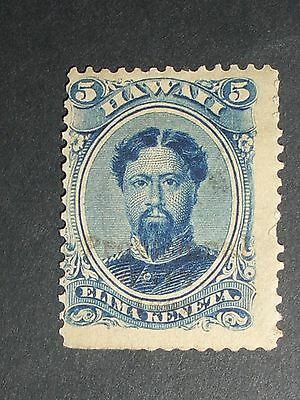 early Hawaii stamp (i do combine p&p) A