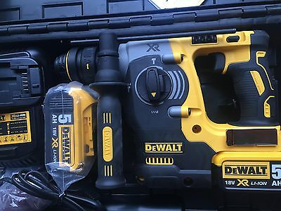 Dewalt DCH274P2 18V XR SDS Rotary Hammer Drill Fully Completed BRAND NEW GENUINE