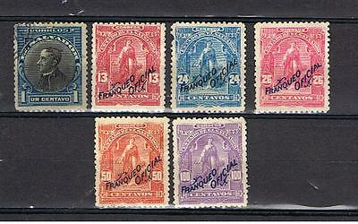 Salvador. Small lot of 6 stamps.