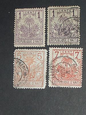 early Haiti stamps mint & used (i do combine p&p)