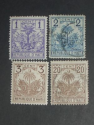 early Haiti stamps mint & used (i do combine p&p) A