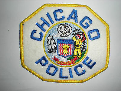Chicago, Illinois Police Department Patch - Embroidered On Felt