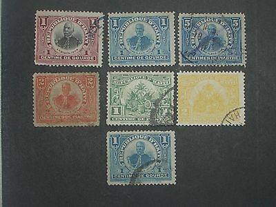 early Haiti stamps mint & used (i do combine p&p) G