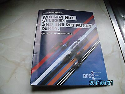 2016 William Hill Greyhound St.leger Racecard