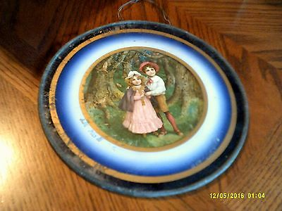 "Vintage Antique Stove Flue Chimney 9 1/2"" Pipe Cover  Victorian Children"