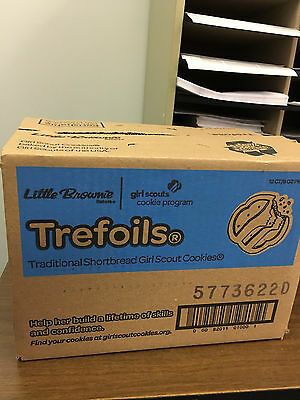 Girl Scout Cookies - Trefoils - 12 boxes in one case
