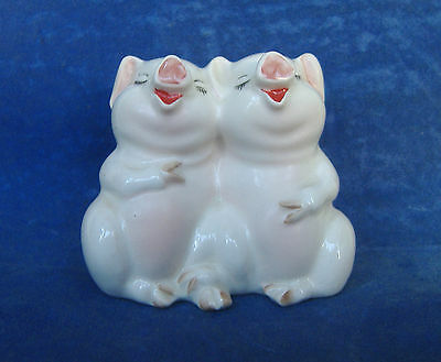 BESWICK -  LAUGHING PIGS - #2103 FANTASTIC CONDITION 1960s