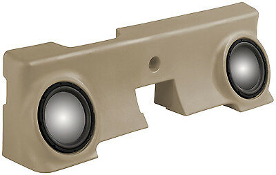 """MTX THUNDERFORM Ford F-250 Regular Cab 2000-2006 UNLOADED FITS 2-10"""" SUBWOOFERS"""