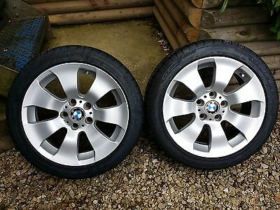BMW Alloy Wheels 225 45 ZR17 with good tyres X2