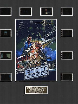 Star Wars The Empire Strikes Back 35mm Film Cell Display