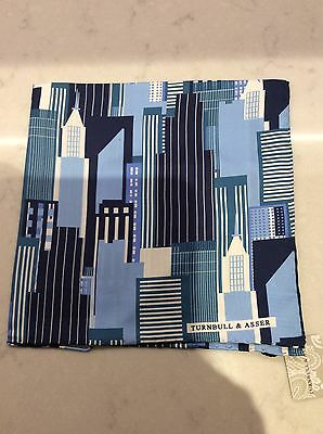 Turnbull and Asser silk pocket square ,handkerchief