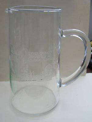 McDonald's Glass Pitcher Etched 1992 Owner Convention Orlando