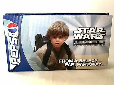 Star Wars Pepsi Promotional Sample Set of 4 Collector Cans Episode 1 Orig Box