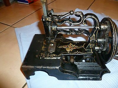 Extremely Rare Antique Victorian James G Weir Sewing Machine