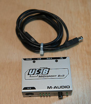 M-Audio USB Midisport 2 x 2 Computer Interface