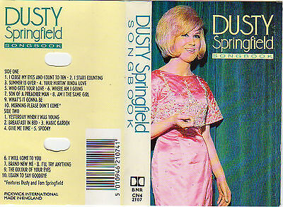 DUSTY SPRINGFIELD Songbook MC Tape MUSIKKASSETTE Son of a Preacher Man