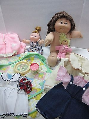 Cabbage Patch Dolls & Accessory Lot