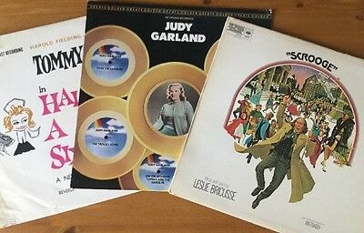 Scrooge Soundtrack LP Half A Sixpence & Judy Garland Vinyl Record Collection