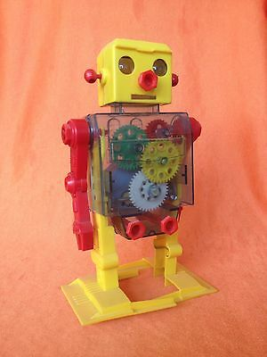 Rare Early Plastic Take Apart Robot Lemssa Spain Copy Of Tomy Japan