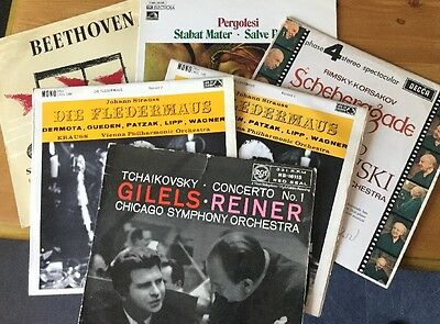 Classical Collection Of LP Records Job Lot