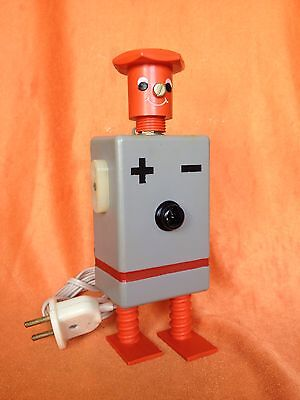 RARE VINTAGE SOVIET USSR CCCP SAMODELKiN +/- ROBOT MADE IN RUSSIA
