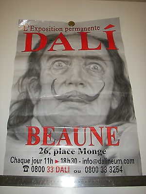 Affiche DALI exposition permanente BEAUNE
