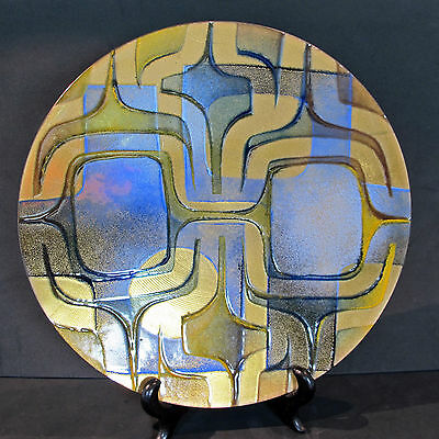 MID CENTURY abstract Wall decor UNIQUE Enamel Art on Copper JULES PERRIER