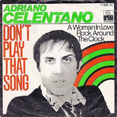 Adriano Celentano, Gianni Nazzaro nur Single Covers