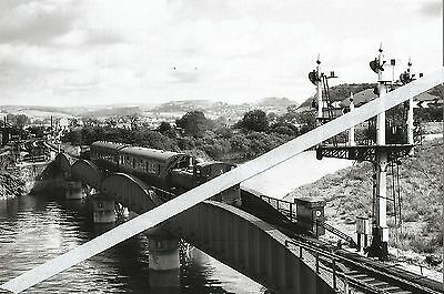 Carmarthen Railway Station  and  River Bridge approach