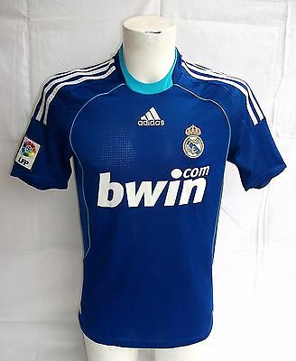Maillot  REAL MADRID  FC   * BWIN.COM *  ADIDAS  Taille  S