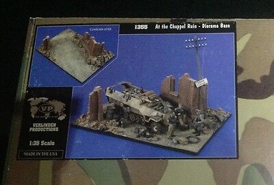 Verlinden Productions Ref.1355 At the Chappel Ruin Diorama Base