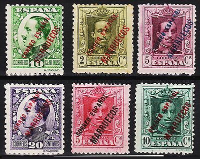 1923 - 1933 Lote Tanger Mh*