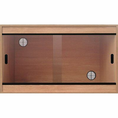 Terapod Deep Reptile Vivarium 2ft 3ft 4ft Housing Beech Oak Walnut Black