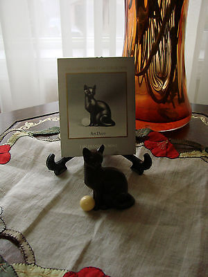 Franklin Mint**Curio Cabinet Cats**ART DECO**VHTF With Brochure 3rd Series