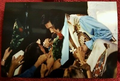 Rare Elvis with fans photo!!